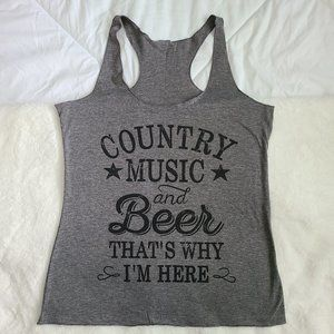 3/$30 Country music and beer tank